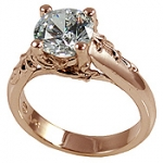 14k Cubic Zirconia Rose Gold Jewelry