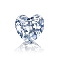 Heart Cut Loose Rusian Cubic Zirconia CZ Stones - Product Image