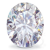 Oval Cut Loose Russian Cubic Zirconia Stones  - Product Image