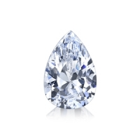 Pear cut Russian Cubic Zirconia Loose Stones - Product Image