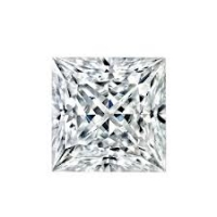 Princess Brilliant Cut Loose Russian Cubic Zirconia Stones - Product Image